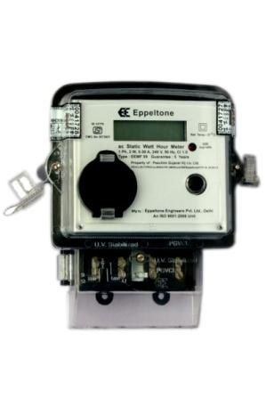 Single Phase Meter with LCD display